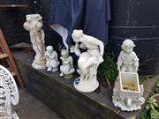 Sale 8601 - Lot 1251 - Collection of Garden Statues