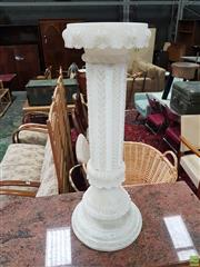 Sale 8601 - Lot 1540 - Large Heavily Carved Pedestal