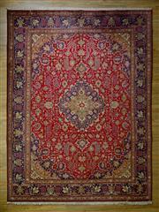 Sale 8643C - Lot 56 - Fine Persian Tabriz 300cm x 400cm