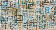 Sale 8838A - Lot 5021 - David Reid - Shanghai Landscape, 2008 76 x 142cm