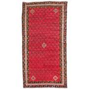 Sale 8880C - Lot 39 - Persian Antique Afshar Rug C1940, 236x120cm, Handspun Wool