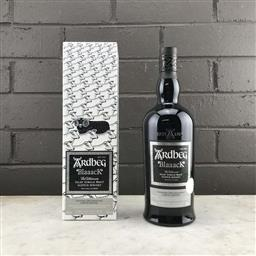 Sale 9142W - Lot 1092 - Ardbeg Distillery Blaaack Limited Release Islay Single Malt Scotch Whisky - Committee 20th Anniversary 2020 Limited Edition, 46% A...