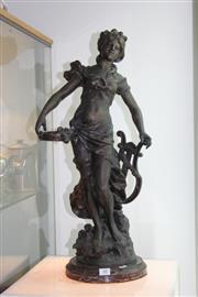 Sale 8340 - Lot 48 - Bronze Figure of a Maiden