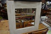 Sale 8480 - Lot 1105 - Tile Framed Mirror