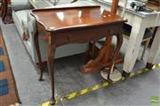 Sale 8515 - Lot 1017 - Mahogany Ladies Desk