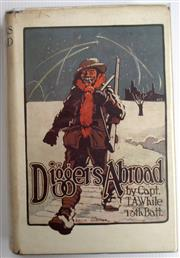 Sale 8639 - Lot 17 - Diggers Abroad, Jottings by a Digger officer, by Thomas A White, Captain 13th Battalion, AIF, published by Angus and Robertson Sydne...
