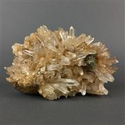 Sale 8638 - Lot 643 - Fine Crystal Quartz Cluster with Pyrite Inclusion