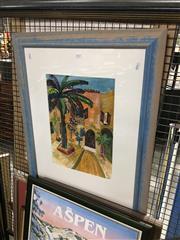 Sale 8707 - Lot 2083 - Kelly Hannah - Azi in Blue, 1996 41 x 28.5cm