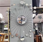 Sale 8912 - Lot 1061 - Metal Sunburst Style Mirror