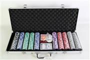 Sale 8931 - Lot 84 - A Complete Cased Poker Set with all Components
