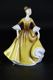 Sale 8968 - Lot 51 - A Royal Doulton Pretty Ladies Figure of Stephanie (H 18cm, HN4861)