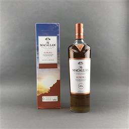 Sale 9120W - Lot 1475 - The Macallan Distillers 'Aurora' Highland Single Malt Scotch Whisky - Taiwanese Travel Exclusive, 40% ABV, 1000ml in box