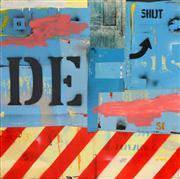 Sale 8325 - Lot 547 - Michael Jeffery (1965 - ) - The Screem, 2009 100 x 100cm