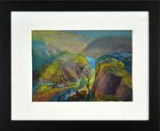 Sale 8401 - Lot 548 - Vincent Brown (1901 - 2001) - Hidden Bay 26 x 36cm