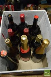 Sale 8518 - Lot 2336 - 10 Assorted Wines & Ports