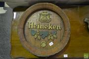 Sale 8520 - Lot 1093 - Heineken Barrel Lid