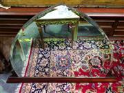 Sale 8570 - Lot 1018 - Art Deco Bevelled Edge Mirror