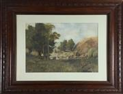 Sale 8795K - Lot 62 - C.E.S. Tindall watercolour