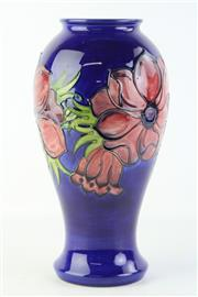 Sale 8810 - Lot 34 - Moorcroft Floral Vase (Height: 32cm)