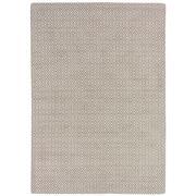 Sale 8880C - Lot 41 - India Rustic Diamonds Carpet, 160x230cm, Handspun Wool & Linen