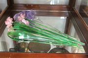 Sale 8340 - Lot 88 - Art Glass Flowers & Petals