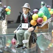Sale 8351 - Lot 3 - Royal Doulton Figure The Balloon Man