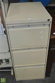 Sale 8390 - Lot 1255 - Metal 3 Drawer Filer