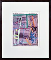 Sale 8415 - Lot 535 - Michael Johnson (1938 - ) - Collins Street #3, 1987 24 x 19cm (frame size: 45 x 38.5cm)