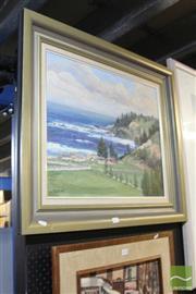 Sale 8468 - Lot 2037 - J. Melvin (XX) - Kingston - Norfolk Island, 1989 49 x 60cm