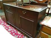 Sale 8570 - Lot 1028 - Art Deco Sideboard (104 x 129 x 50cm)