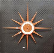 Sale 8839 - Lot 1087 - Jurgens Starburst Wall Clock