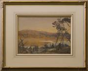 Sale 9080J - Lot 74 - Hans Heysen - Country Vista 27x35cm