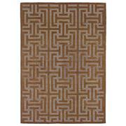 Sale 9082C - Lot 7 - Indian Grid Design, 160x230cm, Handspun Wool
