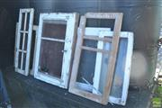 Sale 8390 - Lot 1381 - Collection of Timber Window Frames