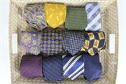 Sale 8410 - Lot 20 - Ben Sherman Tie with Others incl Gucci (Tray Included)