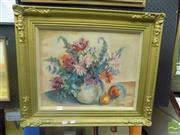 Sale 8483 - Lot 2019 - Artist Unknown (XX) Still Life, oil on canvas, 39 x 50cm, signed lower right