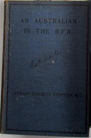 Sale 8639 - Lot 20 - An Australian in the RFA (Royal Field Artillery) being Letters and Diary of Adrian Consett Stephen, published by W C Penfold Sydney ...