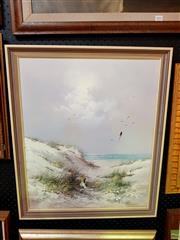 Sale 8659 - Lot 2043 - Artist Unknown - Sand Dunes 67.5 x 57cm, signed lower right -