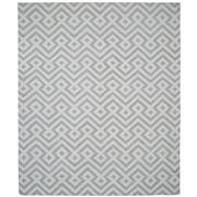 Sale 8880C - Lot 43 - India Contemporary Key Flatweave Carpet, 305x245cm, Handspun Bamboo Silk