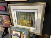 Sale 8888 - Lot 2025 - Sidney Nolan Decorative Print (96 x 105cm, frame)