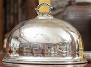 Sale 9060H - Lot 30 - A silver plated meat dome width 35