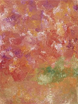 Sale 9195 - Lot 552 - POLLY NGALE (C1936 - ) - Bush Plum, 2010 148 x 200 cm (stretched and ready to hang)