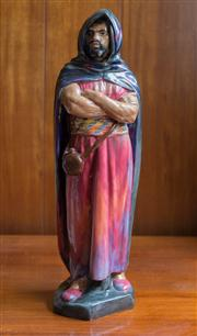 Sale 8313A - Lot 93 - A Royal Doulton figure, The Moor, H N 1657, height 47cm