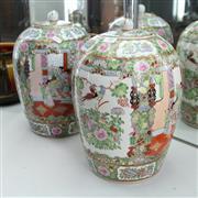 Sale 8336 - Lot 98 - Japanese Pair of Lidded Ginger Jars