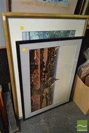 Sale 8503 - Lot 2068 - Two Prints incl Frederick McCubbin Lost