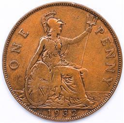 Sale 9246 - Lot 80 - A British 1932 penny