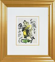 Sale 8389 - Lot 549 - Marc Chagall (1887 - 1985) - Poems, 1968 32.3 x 25cm