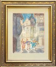Sale 8630A - Lot 56 - Norman Lindsay (1879 - 1969) - Untitled 38 x 31cm