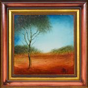 Sale 8344 - Lot 534 - Kevin Charles (Pro) Hart (1928 - 2006) - Landscape 24 x 24cm