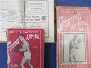 Sale 8450S - Lot 753 - Police Gazette Annuals - 3 original Police Gazette Annuals for 1917, 1918 & 1930